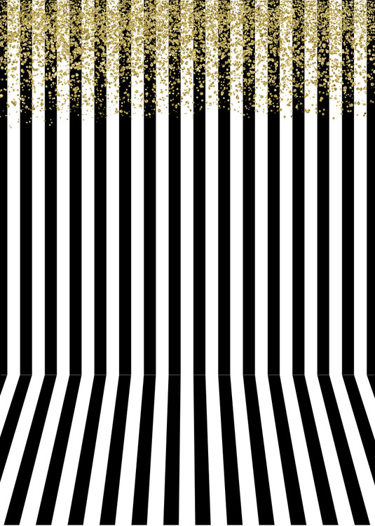 Get Gold Black And White Stripe Background Images