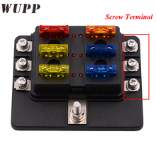 Wupp Fuse Box 6 Ways Block Holder Circuit Car Fuse Box With Cover Led Indicator 32V_220x220 popular fuse box cover buy cheap fuse box cover lots from china car fuse box cover at gsmx.co