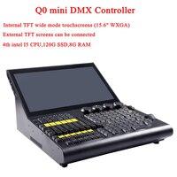 Высокое качество DJ м профессиональное осветительное Q0 мини DMX контроллер для проектно шоу сцена диско вечеринки оборудование