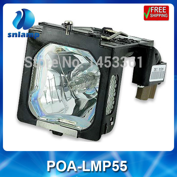 Compatible projector lamp POA-LMP55/610-309-2706 for PLC-XU25 PLC-XU51 PLC-XU55 PLC-XT15KS compatible projector lamp bulbs poa lmp136 for sanyo plc xm150 plc wm5500 plc zm5000l plc xm150l