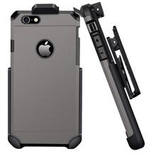 ImpactStrong Belt Clip Case Compatible for iPhone 6/6s Heavy Duty Dual Layer Protection Cover and Holster Combo