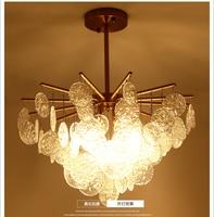 Современная Люстра для гостиной, скандинавский ресторан, необычная люстра, дизайнерская простая индивидуальная спальня на вилле, железные