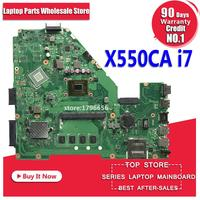 X550CA Laptop motherboard I7 CPU for ASUS X550CC R510C Y581C X550C X550CL Test mainboard X550CA motherboard test 100% ok