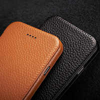 "Jisoncase Protective Shell for iPhone 7 Case Flip Cover Genuine Leather Magnetic Anti-knock Phone Case for iPhone 7 4.7"" Coque"