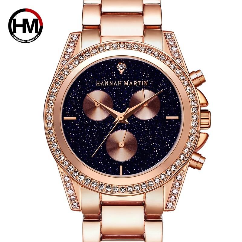 HM-1108 Luxury Female Clock Quartz Women Watch Fashion Famous Brand Watches Diamond Steel Lady Wrist Watches Relogio Femininos все цены