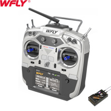 WFLY ET12 2.4GHz Remote Controller 12CH Radio Transmitter with RF209S Receiver For RC Drone Car Boat цена 2017