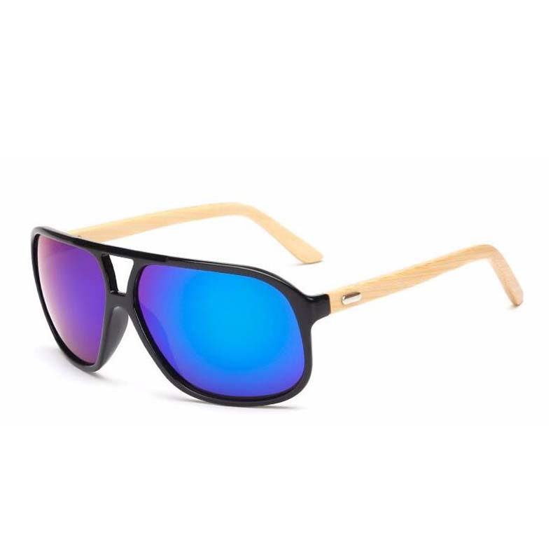 mode overdimensioneret bambus solbriller mænd kvinder mærke - Beklædningstilbehør - Foto 5