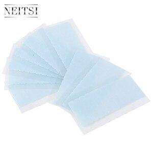 Image 5 - Neitsi 120 Tabs кружева спереди/DUO PRO/Ультра удерживающие предварительно вырезаемые двухсторонние ленты США ходунки ленты для наращивания волос