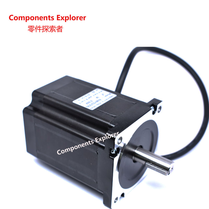 86 stepper motor 86 BYG250D 8.5N.m two-phase four-wire motor 118MM large torque stepper motor high quality two phase four wire dc stepper motor step angle 1 8 degree with output gear