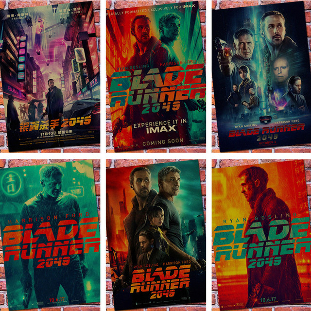 BLADE RUNNER Posters Movie Poster Vintage Retro Wall Sticker Home Decor HOME