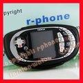 Juego original del teléfono de nokia n teléfono móvil n-gage qd qd negro + batería + cargador + regalo
