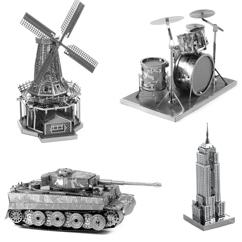 PROMOTION-Multi-Style-3D-Puzzle-Educatio
