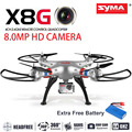 Syma X8G Upgrade Version With 8.0MP Wide Angle Camera 2.4G 4CH 6 Axis Venture RC Quadcopter RTF RC Helicopter