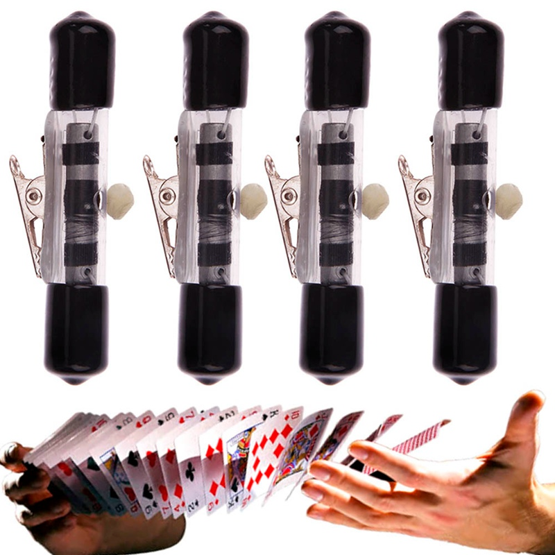 Floating Invisible Thread Reel Magic Tricks Charming Float Close Up Street Trick Thread Reel Retractor