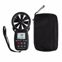 HoldPeak Anemometer Digital Anemometer Wind Speed Measurement Wind Device Handheld with LCD Backlight and Max/Min gm8910 handheld digital anemometer wind speed meter with wind chill dew point tester