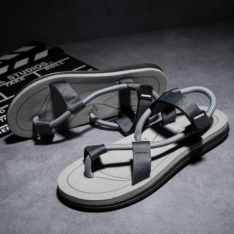2019 Summer Sandals Men Fashion Gladiator Comfortable Outdoor Light Roman #666