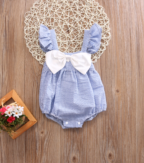 Mother & Kids Bodysuits & One-pieces Summer Pink Lace Romper Baby Girls Crocheted Sleeveless Spaghetti Straps Jumpsuit Outfit Sunsuit Flower Clothes