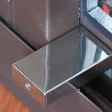 Premintehdw нержавеющая сталь для маленьких детей Детская безопасность раздвижные створки окна замок стоп фиксаторы с ключами