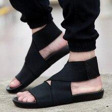 2017 sandalias de verano de los hombres ocasionales nueva moda estilo Coreano de los hombres zapatos de playa para hombre stretch tela sandalias de playa pantufa T041408