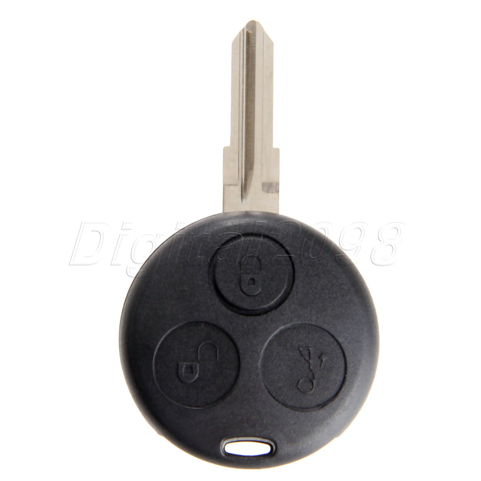 Yetaha 3 Buttons Remote Car <font><b>Key</b></font> Shell Fob Case Auto Replacement <font><b>Key</b></font> For Mercedes-Benz <font><b>Smart</b></font> ForTwo <font><b>450</b></font> Car-covers image