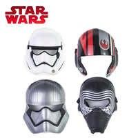 Star Wars Toy E8 Series Toy Poe Dameron Kylo Ren Stormtrooper Captain Phasma Half Helmet Adjustable Plastic Masks Cosplay