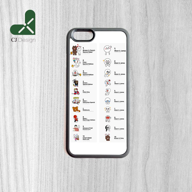 Diy line stickers printing pattern unique custom made durable mobile protection cover for iphone 6 6s and 4 4s 5 5s 5c 6 plus in half wrapped case from