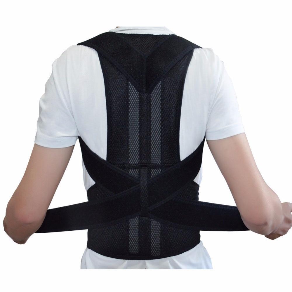 Back Shoulder Support Posture Correction Belt for Men Women Students AFT-B003 Magnetic Corset Back Posture Corrector Brace  back posture correction belt for children beige