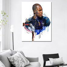 France Sports Star Djibril Sidibé Canvas Painting Print Bedroom Home Decor Modern Wall Art Posters Classical Pictures