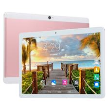 2018 Terbaik Jual 10 Inch 3G Telepon Tablet Quad Core Tablet PC Android Tablet 1G + 16G WIFI GPS Dual SIM PC Tablet 7 8 9 Tab(China)
