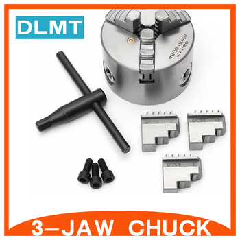 3 jaw chuck K11-125 high-precision three self-centering chucks 125mm 5 inch for Mechanical lathe Mini lathe
