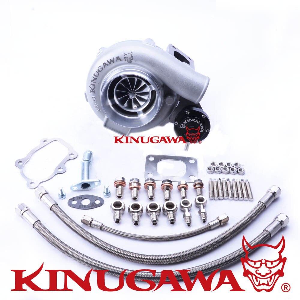 Kinugawa GTX Ball Bearing Turbocharger 4 Anti Surge GTX3071R AR 64 T25 5 Bolt for NISSAN