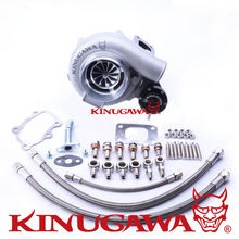 Kinugawa GTX Ball Bearing Turbocharger 4″ Anti-Surge GTX3071R AR.64 T25 5 Bolt for NISSAN SR20DET SILVIA S14 S15