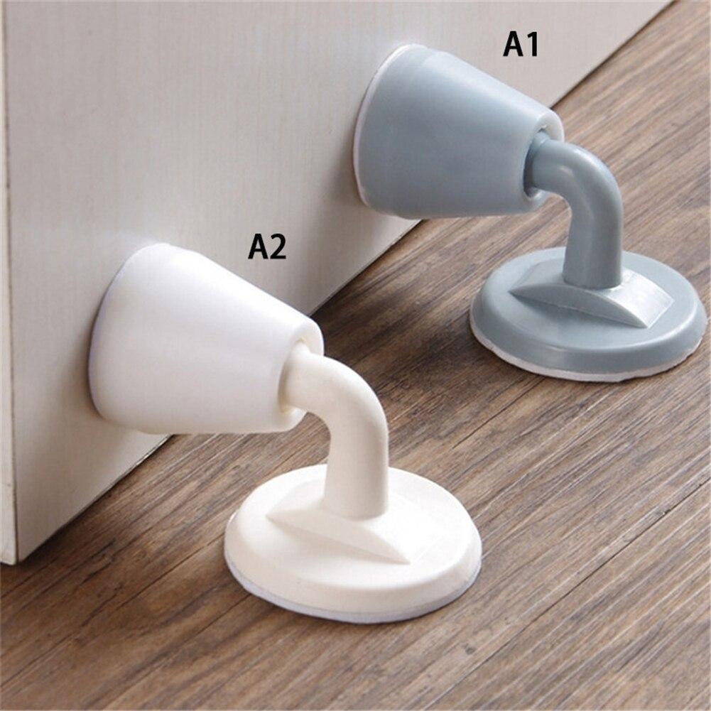 1pcs Silicone Stops door Handle Silencer Wall Protectors Door Stopper For Anti-collision Deurstopper Door Handle Knob Holder