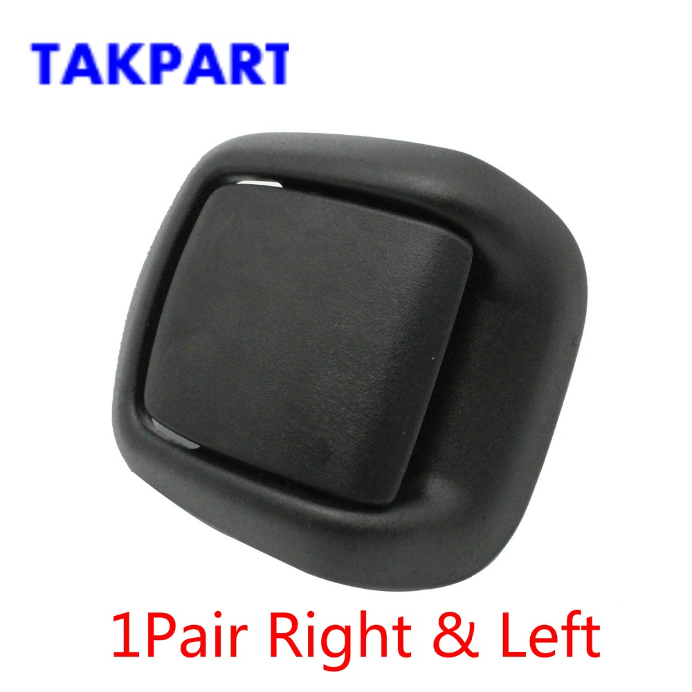 TAKPART 1 Pair Right & Left Hand Front Seat Tilt Handles For FORD Fiesta MK6 2002-2008 1417520 1417521
