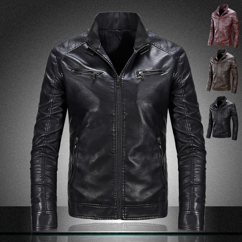 Online Get Cheap Top Leather Jacket Brands for Men -Aliexpress.com