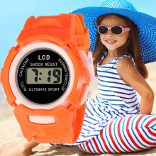 DUOBLA Children Girls Analog Digital Sport LED Electronic Wa