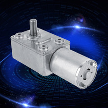 New Reversible High Torque Worm Geared Motor DC 12V Reduction Motor 5RPM 13mm 12v 13rpm high torque dc geared motor