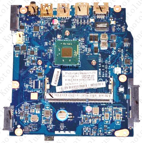 NB MML11 002 for ACER Aspire ES1 511 laptop motherboard NBMML11002 N2830 Z5W1M LA B511P Free Shipping 100 test ok in Laptop Docking Stations from Computer Office