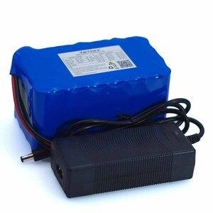 Image 5 - 24V 8 Ah 7S4P 18650 batterie au Lithium batterie 29.4 v vélo électrique cyclomoteur/électrique/Lithium ion batterie avec BMS + chargeur