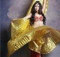 2016 Горячей популярные женщины Египетский танец живота Isis крылья золота в продаже 10 цвет оптовые
