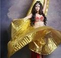 2016 Hot popular women Egyptian belly dance Isis wings of gold in the sale of 10 color HOT wholesale