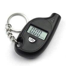 Mini Keychain Portable Digital LCD 2-150 PSI Tire Tyre Wheel Air Pressure Gauge Tester Procession Tool tire pressure monitor