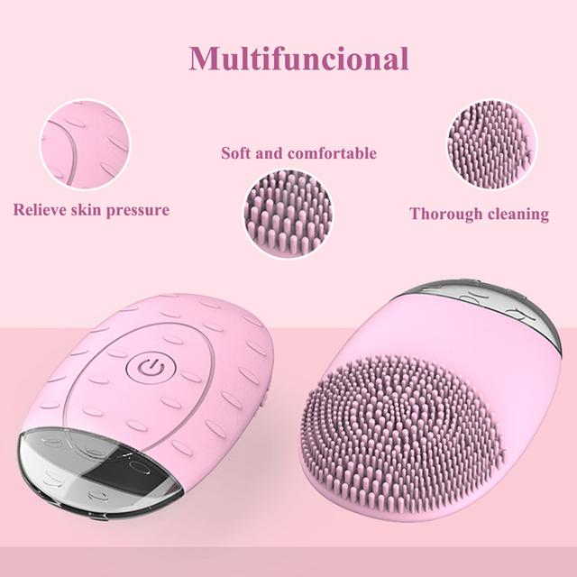 Electric Facial Cleaning Brush Mini Skin