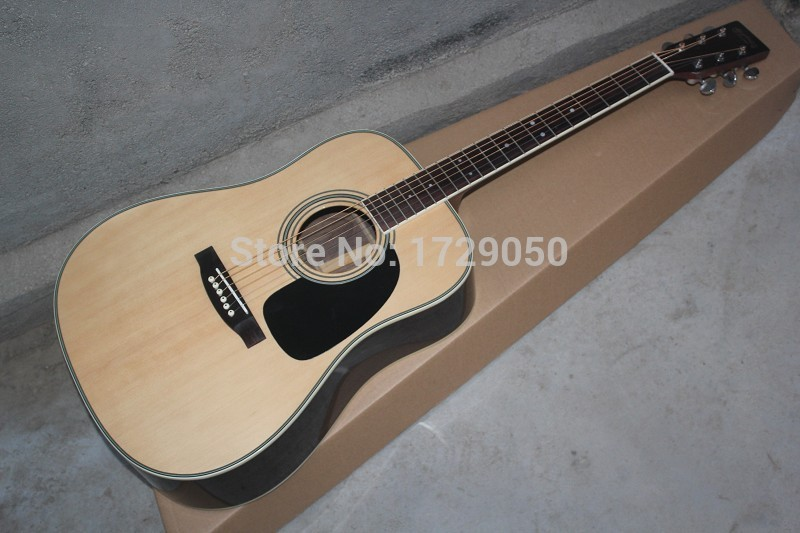 Chinese Factory 2017 Custom new MT D//28 Top Solid spruce/back Rosewood acoustic guitar in stock 815 new in stock paf400f24 28 tc
