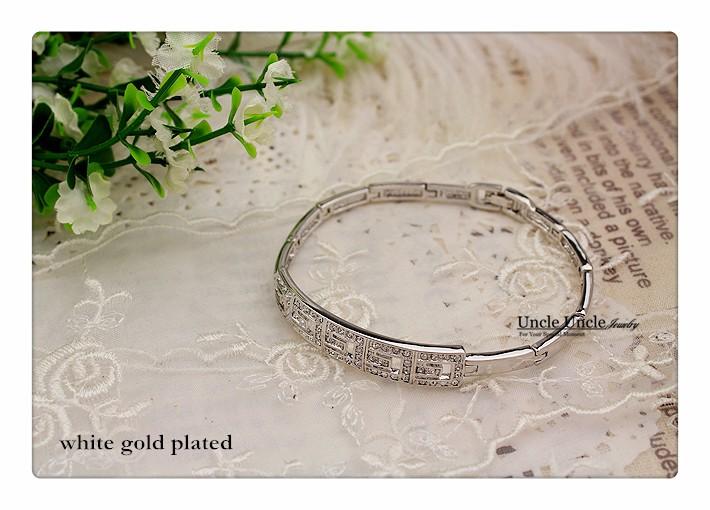 розовое золото цвет бренда дизайн г рим стиль австрийский хрусталь леди браслет оптовая