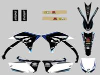 NICECNC For Yamaha YZF250 YZ250F Dedals Stickers New Team Graphic Background Decal Kit For YZF 250 YZ 250F 2010 2011 2012 2013
