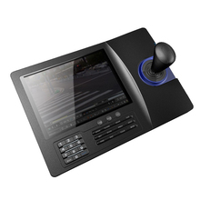 8 inch LCD Analog RS485 PTZ Keyboard Controller for security camera system