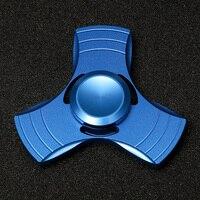 Metal hand spinner Aluminium alloy Fine craft High Speed Low noise fidget spinner #T02