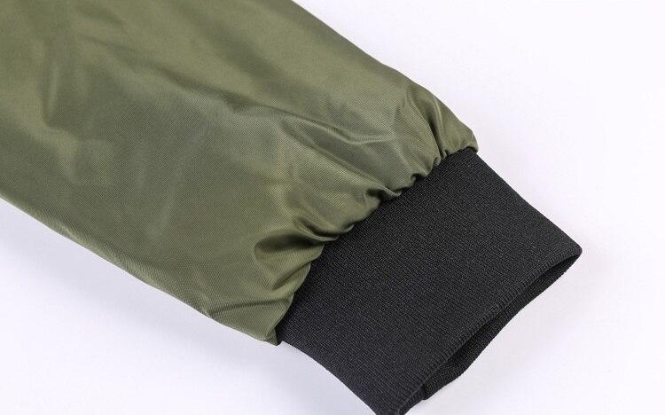HTB11ALBelCw3KVjSZR0q6zcUpXag Men's Outwear Baseball Jacket Flight Bomber Coat Mens 2019 Spring Autumn Army Green Military Streetwear Jackets Coats Waterpoof