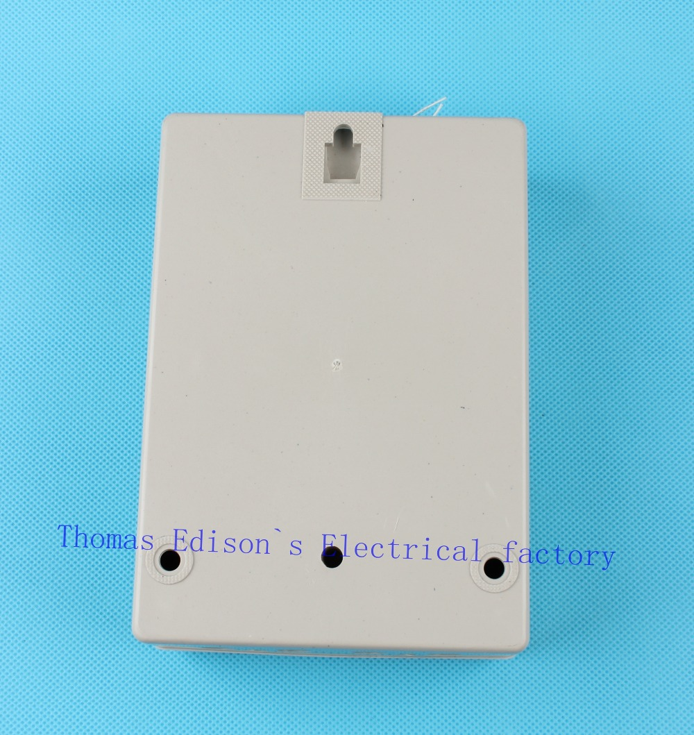 Single phase two wire electric energy meter KWH analog watt 2.5(10 ...